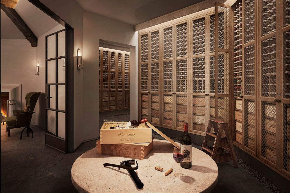 In Celebration of National Wine Day Today: Luxe Private Wine Cellars