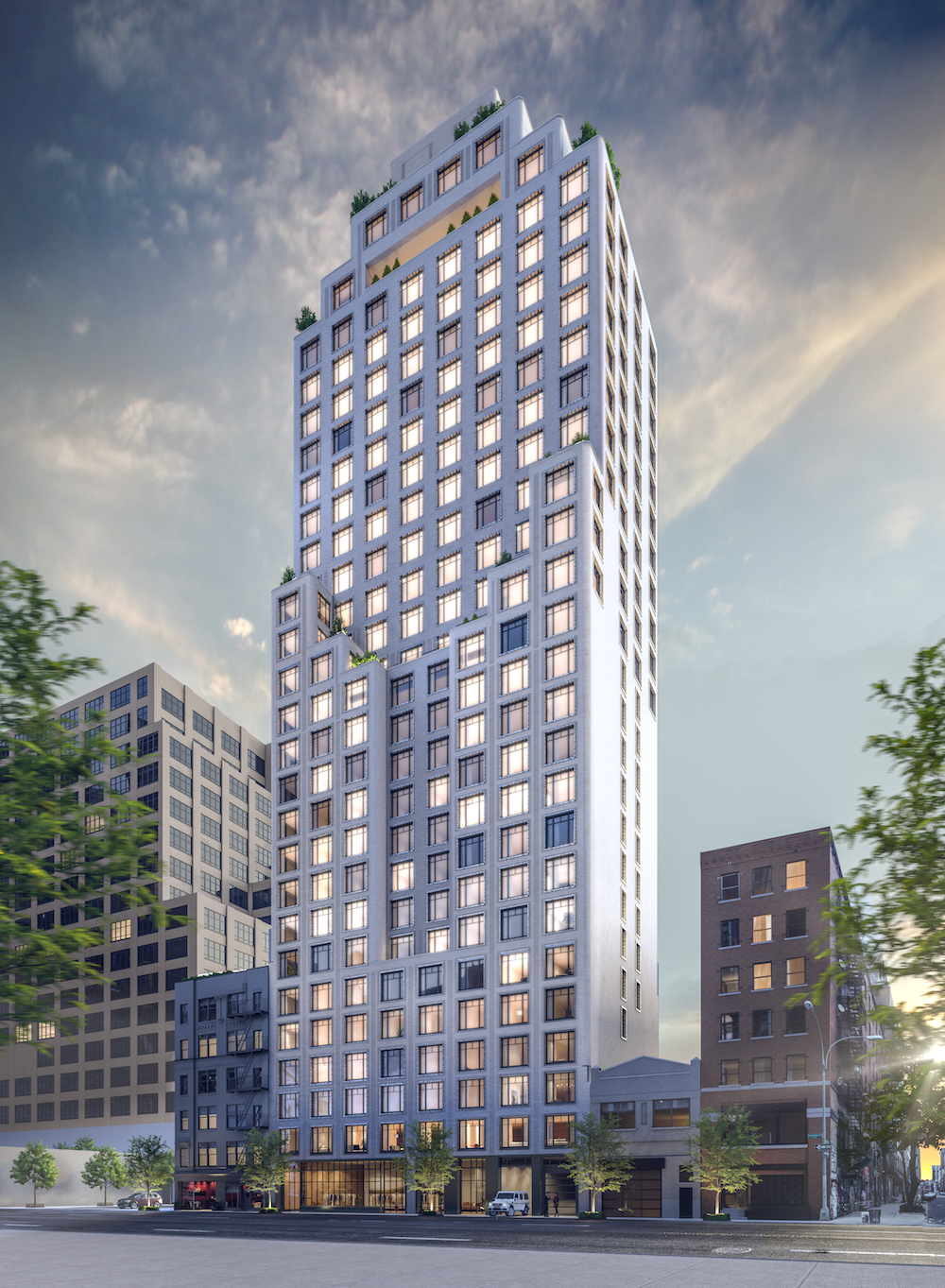 New Downtown Tower Greenwich West Breaks Ground, Releases First Details