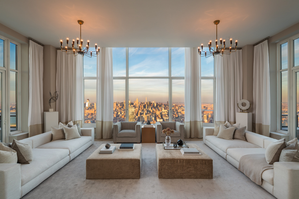 Peek Inside the Highest Terraced Penthouse in NYC For-Sale