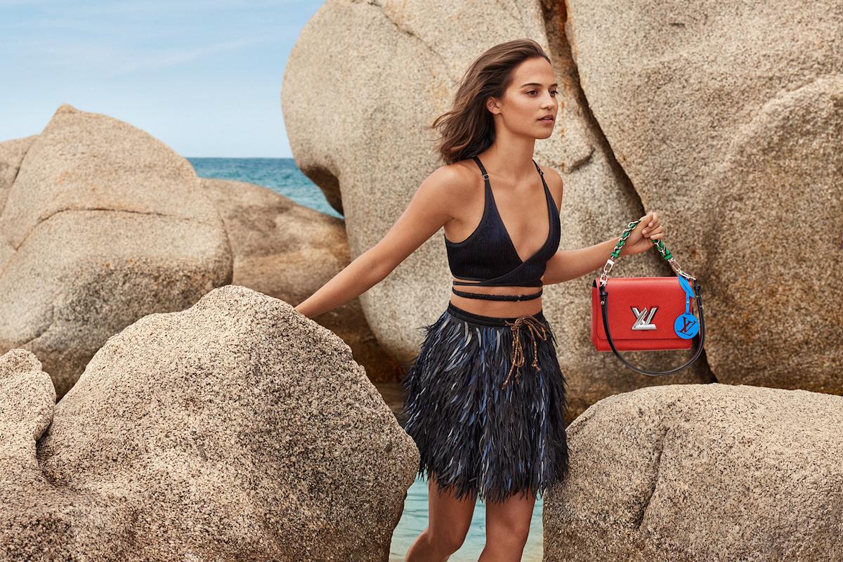 82158953f6d6 Alicia Vikander for Louis Vuitton Cruise 2019 Campaign