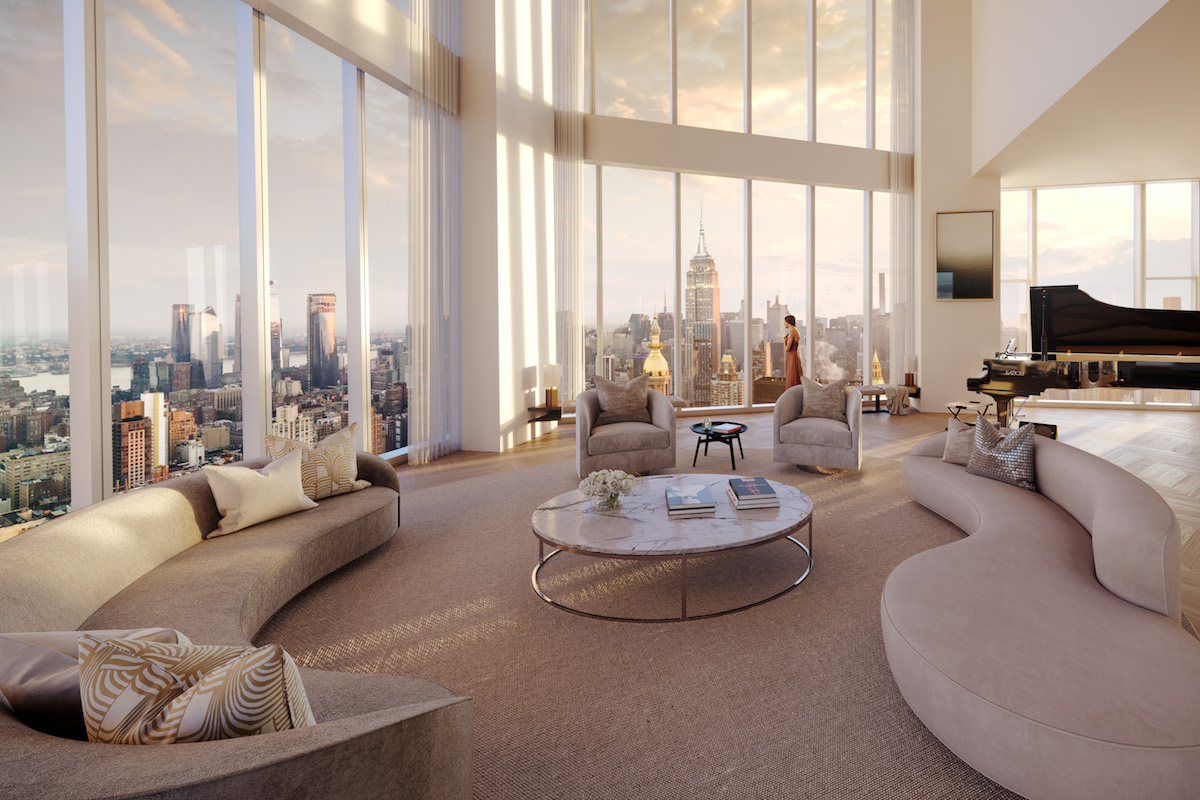 Luxexpose madison square park tower triplex penthouse 3 - Luxury hotels near madison square garden ...