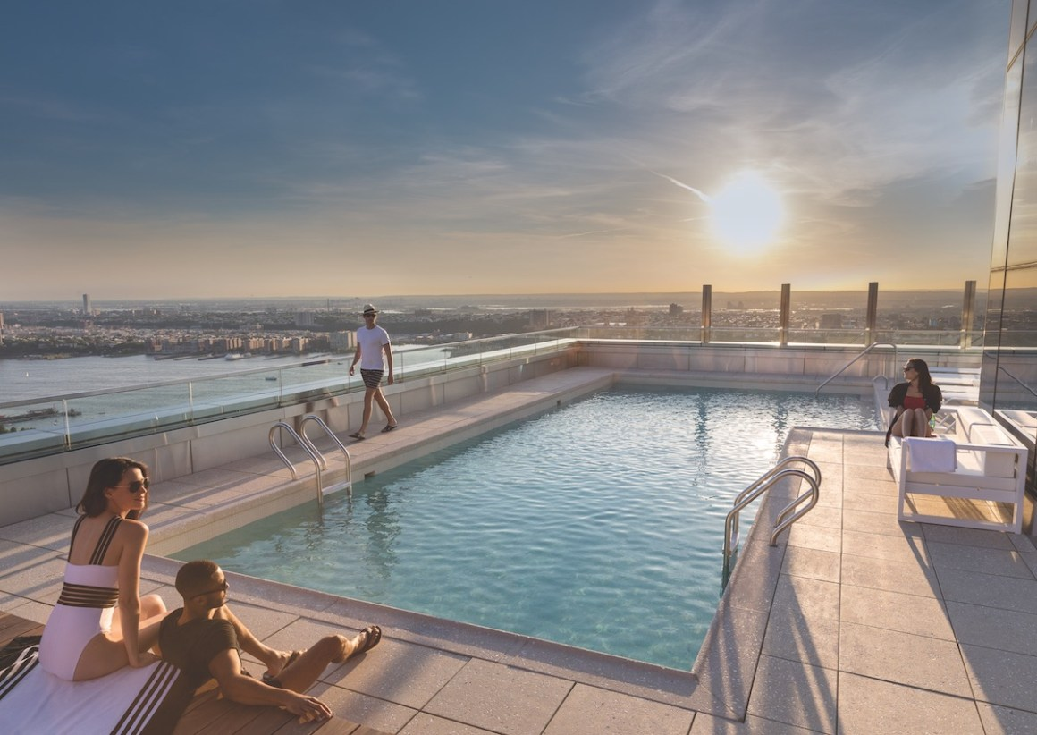 Beat the Heat at These Rental Developments with Outdoor Pools