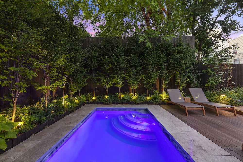 Modern Oasis with Private Outdoor Pool Hits the Market in Williamsburg