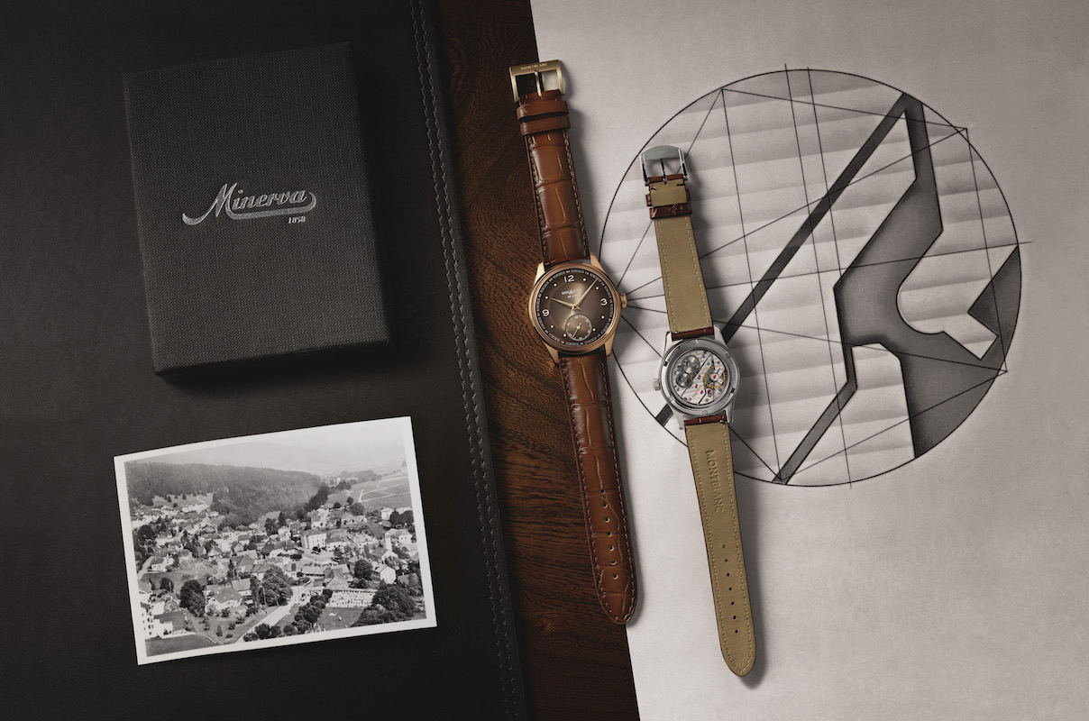 Montblanc Unveils a Manufacture Movement Inspired by the Historical Minerva Pythagore