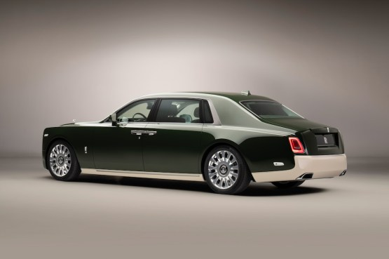 Rolls-Royce Phantom Oribe Created in a Collaboration with Hermès