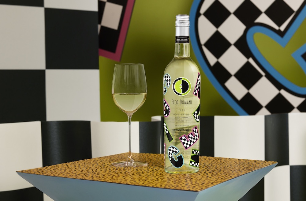 Fashion Designer Jeremy Scott Unveiled Newest Project - Wine
