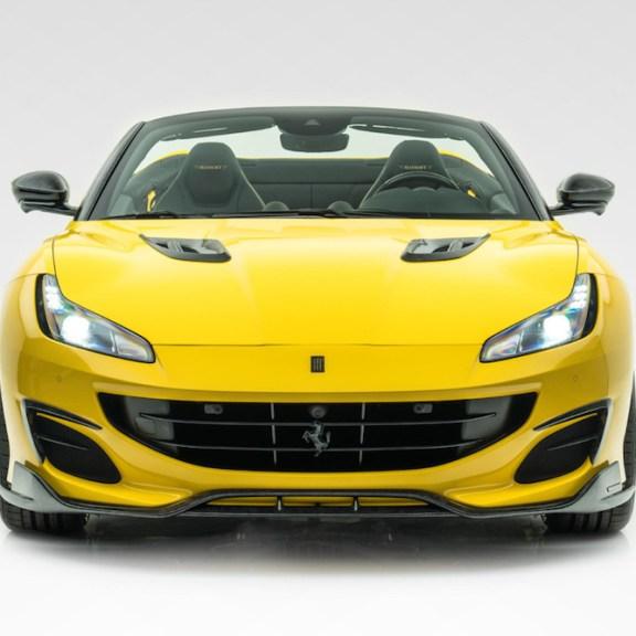 MANSORY Presents the New Ferrari Portofino with Full Carbon Roof