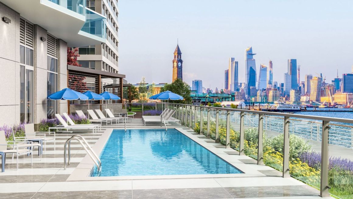 LeFrak's The Beach Launches Leasing in Newport, Jersey City