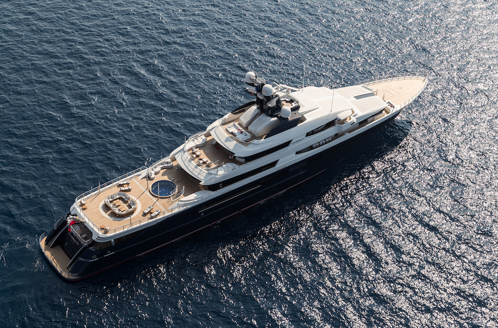 Secret-Service Level Security and Privacy on Board Oceanco Superyachts
