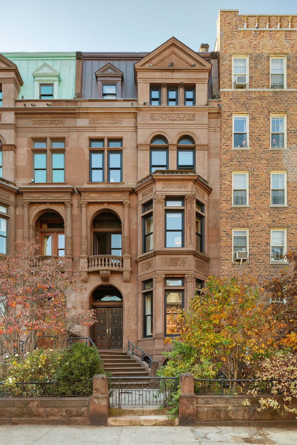 Famed Pfizer Mansion Closes for Record Price in Brooklyn