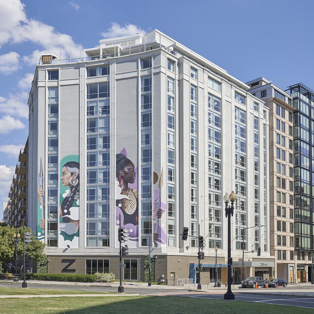 Celebrate Arts & Humanities Month with Trendy DC Hub Hotel Zena