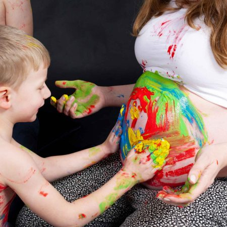 Babybauch Painting