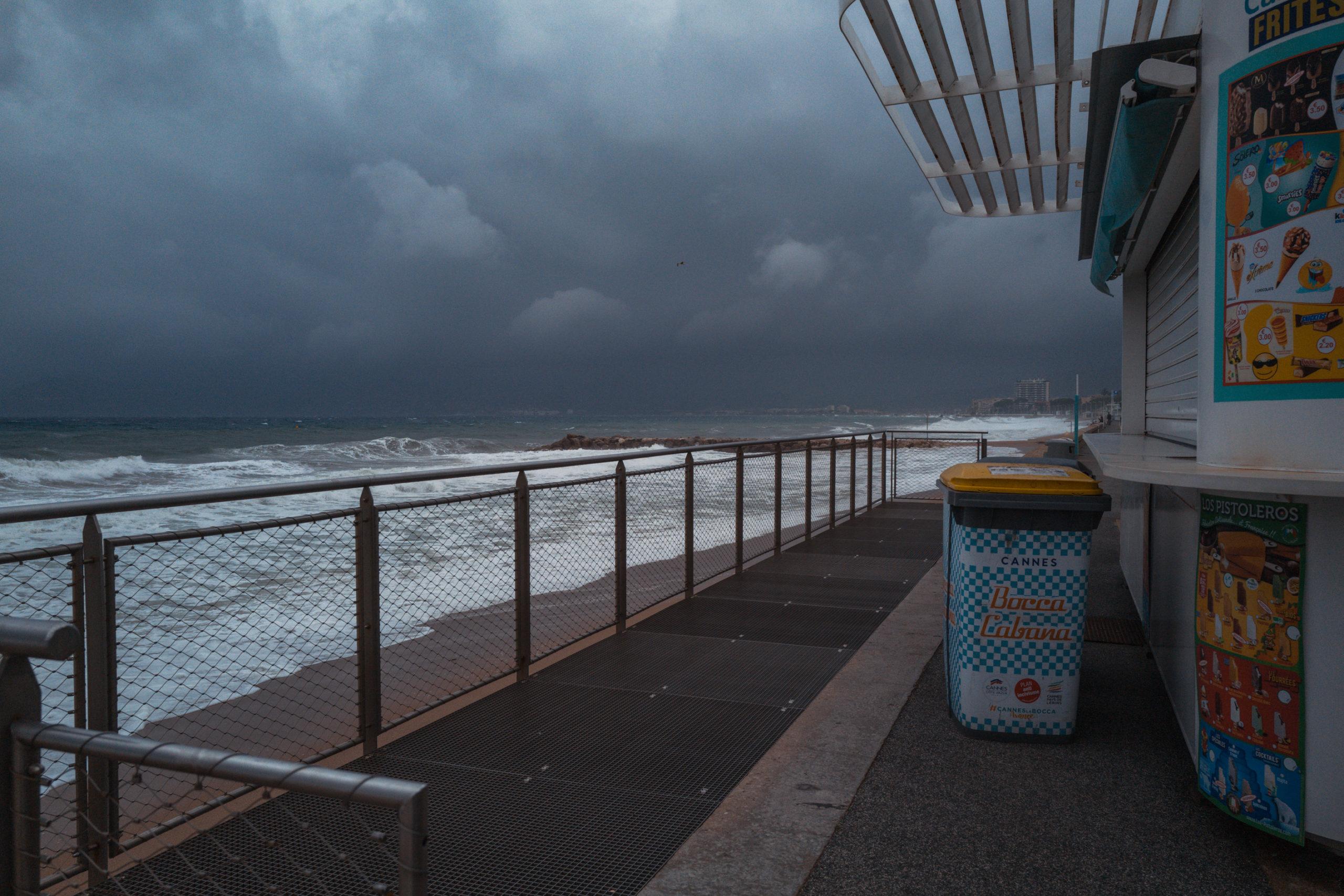 Tempête Côte d'Azur