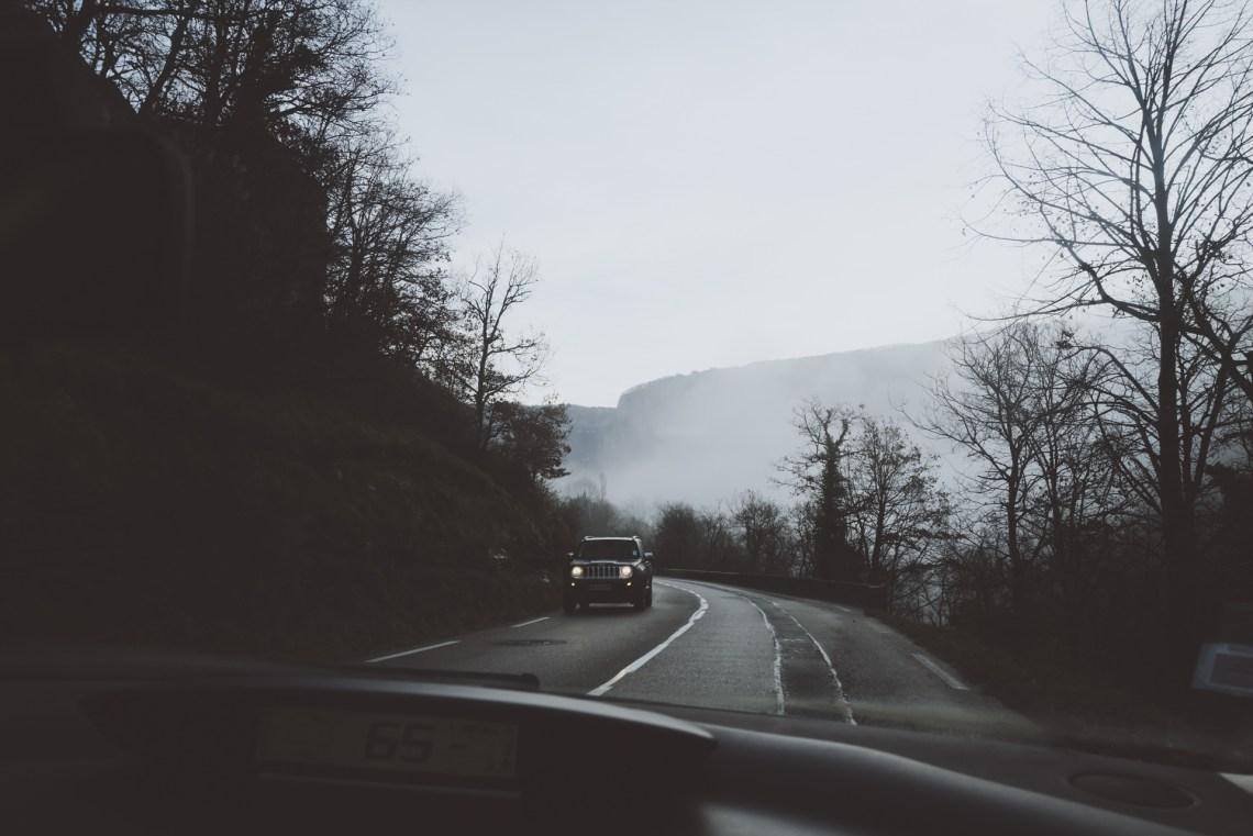 route confinement