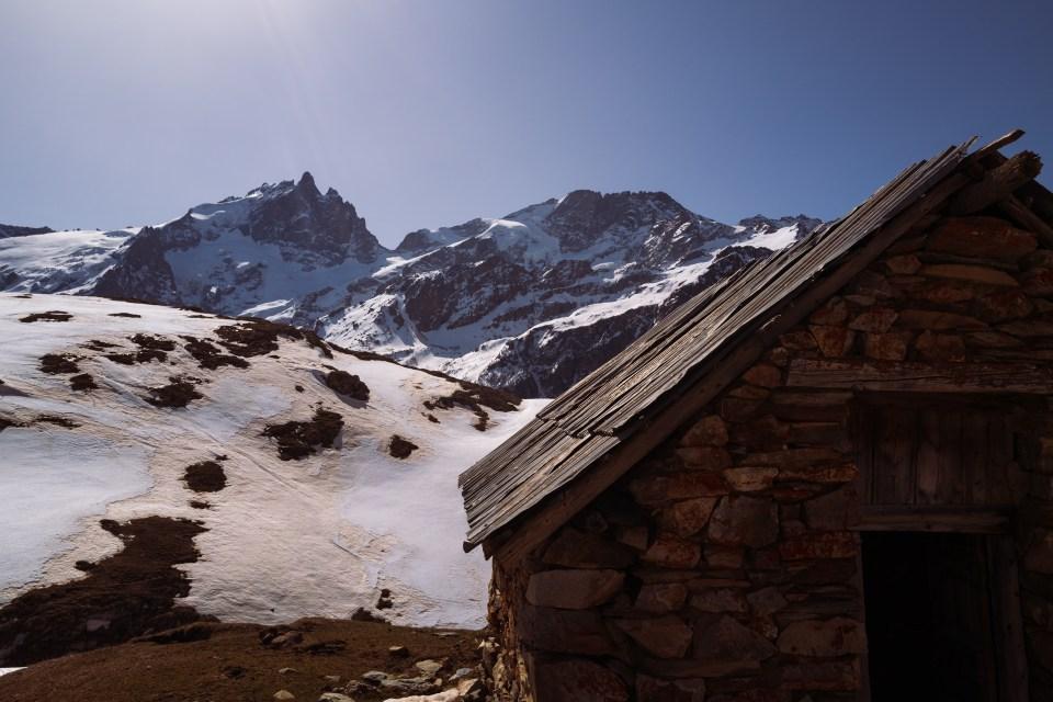 Plateau d'Emparis cabane