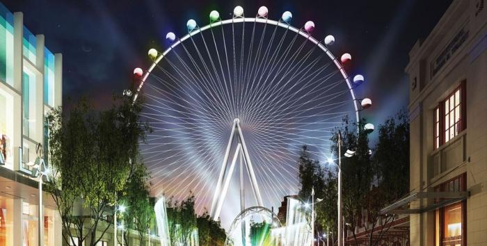 High Roller Vegas Largest Observation Wheel