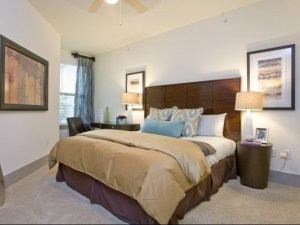 Bedroom Size at The Monterey by Windsor Apartments in Uptown Dallas TX Lux Locators Dallas Apartment Locators