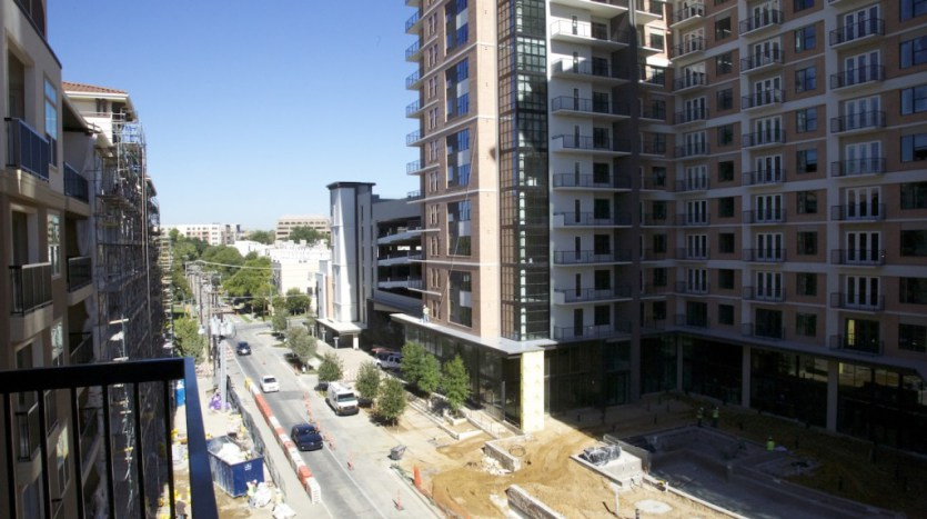 Building View at Monaco Apartments in Uptown Dallas TX Lux Locators Dallas Apartment Locators