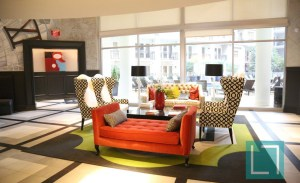 Community Area View at Gables Uptown Trail Apartments in Dallas TX Lux Locators Dallas Apartment Locators