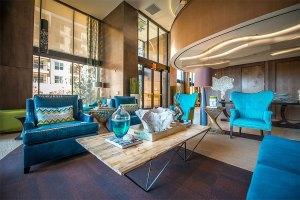 Community Living Area at The Taylor Apartments in Uptown Dallas TX Lux Locators Dallas Apartment Locators