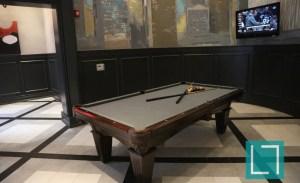Community Pool Table at Gables Uptown Trail Apartments in Dallas TX Lux Locators Dallas Apartment Locators