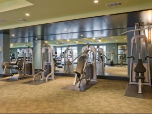 Fitness Room at The Monterey by Windsor Apartments in Uptown Dallas TX Lux Locators Dallas Apartment Locators