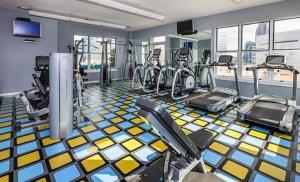 Fitness Room at The Vista Apartments in Uptown Dallas TX Lux Locators Dallas Apartment Locators