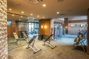 Huge Fitness Rooms at The Taylor Apartments in Uptown Dallas TX Lux Locators Dallas Apartment Locators