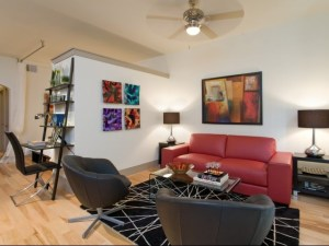 Living Room Lounge at The Monterey by Windsor Apartments in Uptown Dallas TX Lux Locators Dallas Apartment Locators