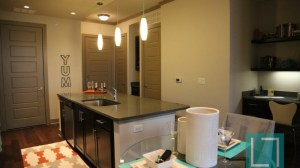 Living Room Study at L2 Uptown Apartments in Uptown Dallas TX Lux Locators Dallas Apartment Locators