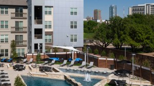 Pool View at Avant Apartments in Uptown Dallas TX Lux Locators Dallas Apartment Locators