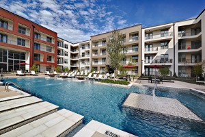 Pool at Strata Apartments in Uptown Dallas TX Lux Locators Dallas Apartment Locators