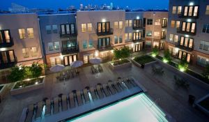 Top Pool View at 2929 Wycliff Apartments in Uptown Dallas TX Lux Locators Dallas Apartment Locators