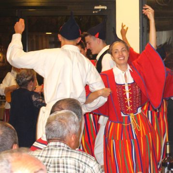 Traditional dances on Madeira Folklore tour