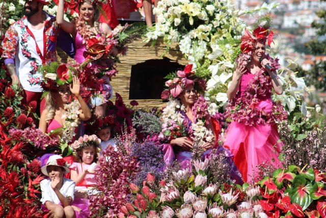 Madeira Flower Festival, Madeira Portugal events: flower festival