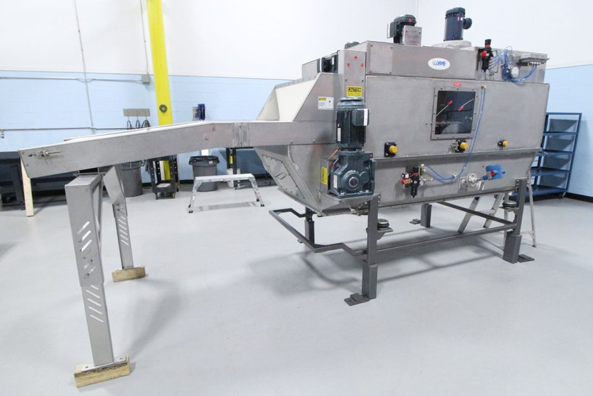 Stainless Steel Automatic Bag Slitter