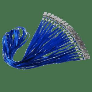 Blue Lanyards 100 Qty @ $0.40 EA