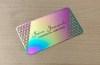 Iridescent Metal Card