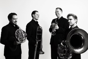Helsinki Brass Quartet artist photo