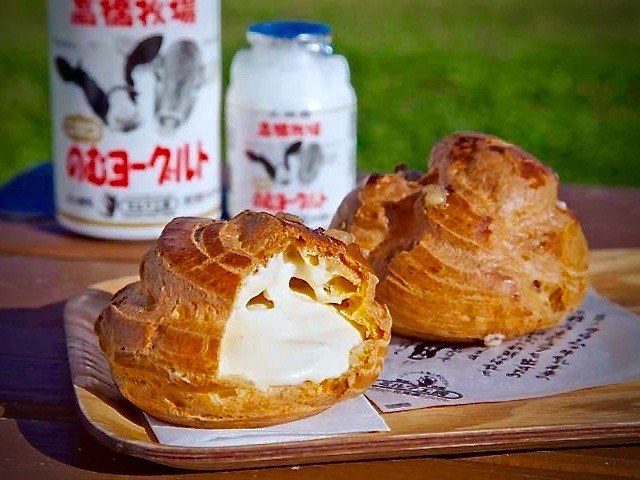 Milk Kobo Cream Puff Pastry on LuxNiseko Alpine Lifestyle Magazine