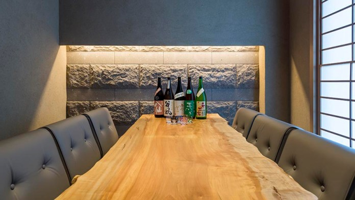 Sushi Shin Private Dining Room in the Kamui Annupuri Village Niseko on LuxNiseko Alpine Luxury Lifestyle Magazine