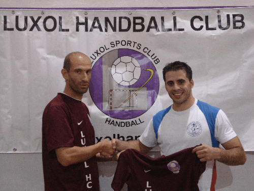 Luxol Signs Spanish Player