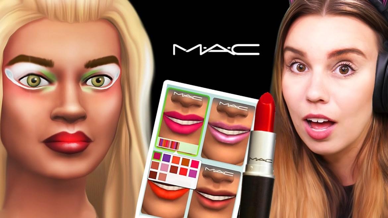MAC Cosmetics en Los Sims 4