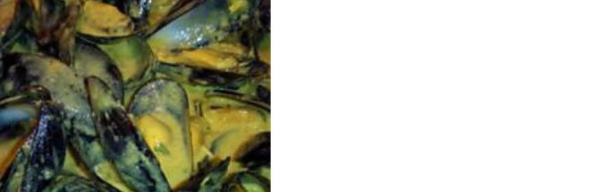 Moules marinières au curry