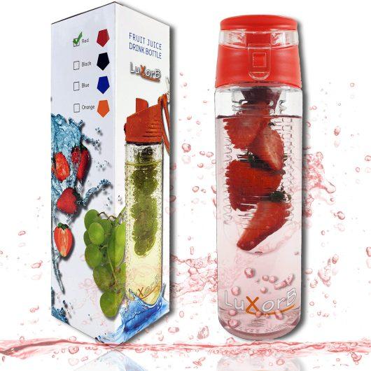 Drinkfles -EASY- rood
