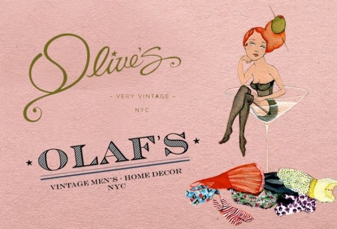 olive's website welcome