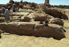 Photo of Egyptian Team Discovers Roman Temple in Western Desert