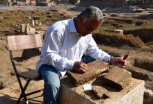 Photo of Egyptian Archaeologists Unearth More of Re Temple in Old Heliopolis