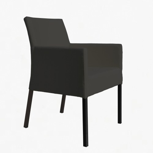 Mirage Armchair both charcoal