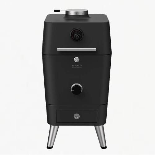 everdure 4k charcoal bbq oven graphite